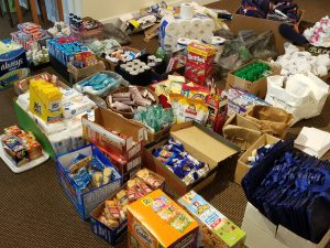 Food, clothing, and toiletries for Turpin Cares by Turpin Communication