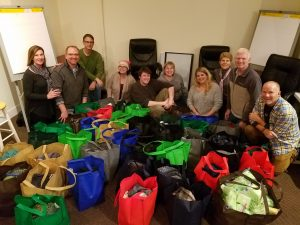 Care packages for the homeless, sponsored by Turpin Communication