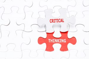The trainer's responsibility is to help learners think critically