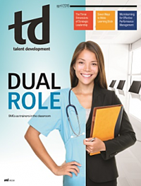 TD Magazine: Dual Role by Dale Ludwig and Greg Owen-Boger
